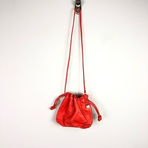 Anthropologie Bags - NEW Anthropologie Clare V Orange Leather Bag